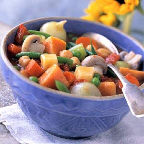 Menestra de verduras al horno