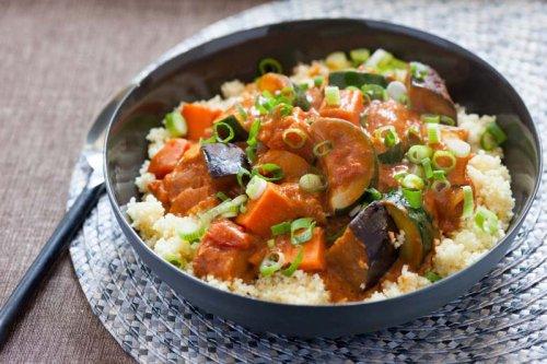 Menestra de verduras con arroz y carne