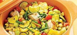 Menestra de verduras con pollo